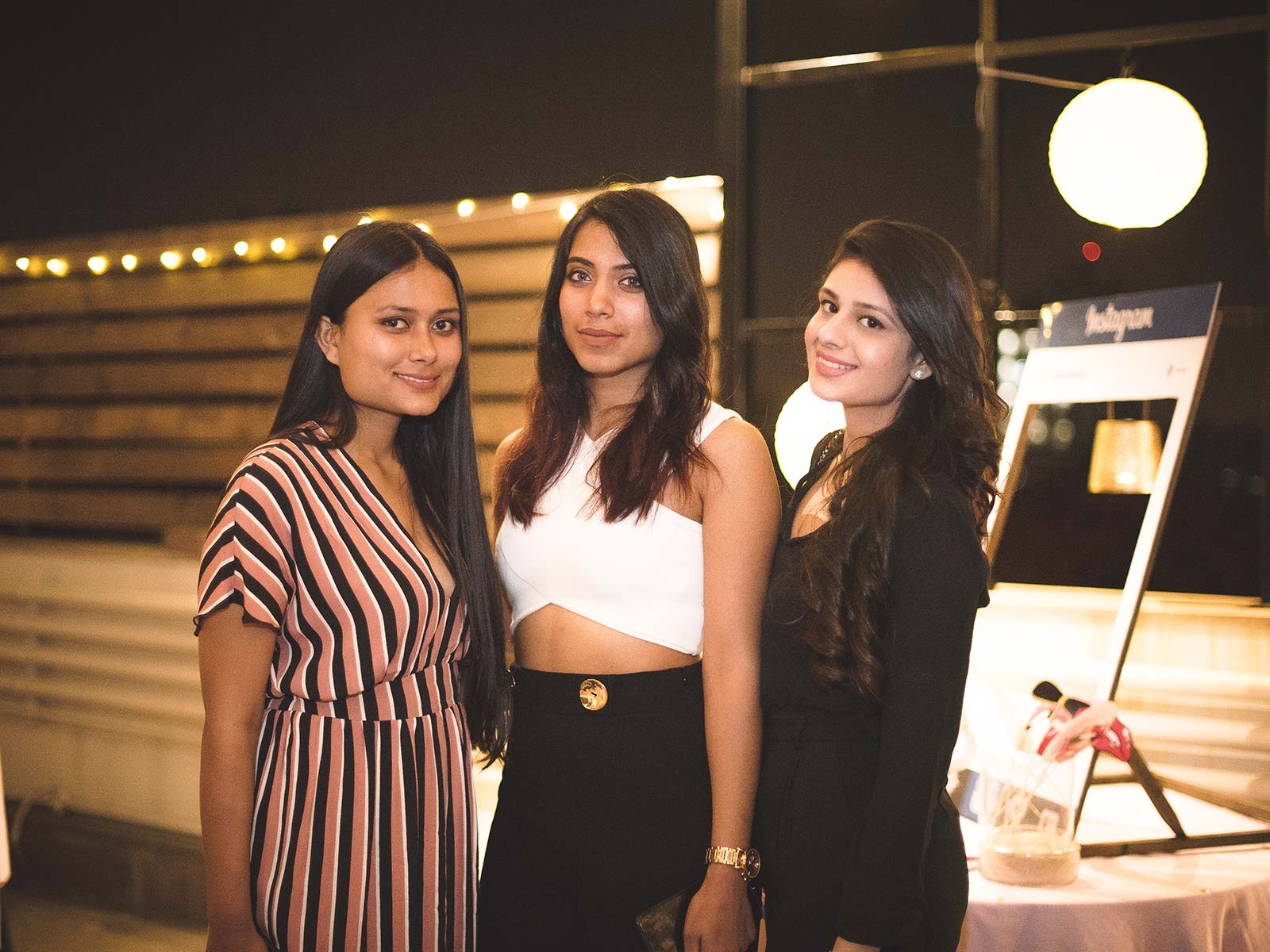 Abhilasha Rauthan and Aarushie Aks Bali at the #POPxoTurns3 party