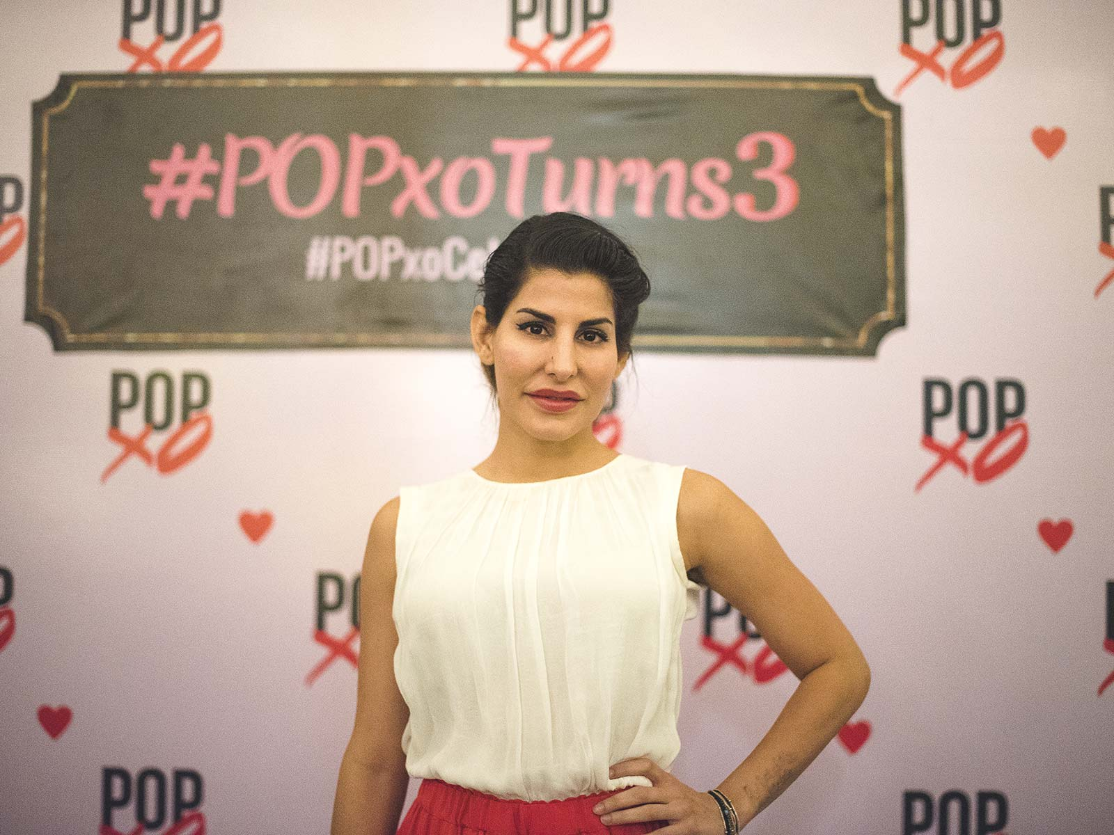 Charu Sachdev at the #POPxoTurns3 party