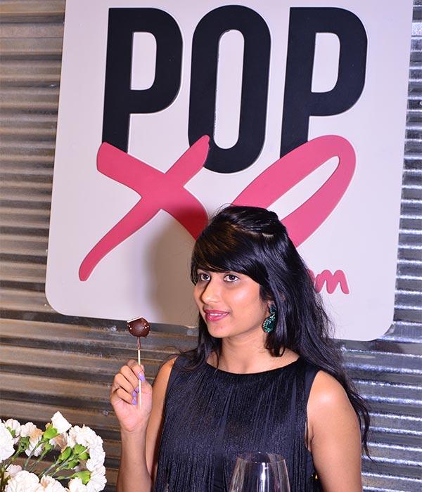 Gopika EM at the POPxo App launch event