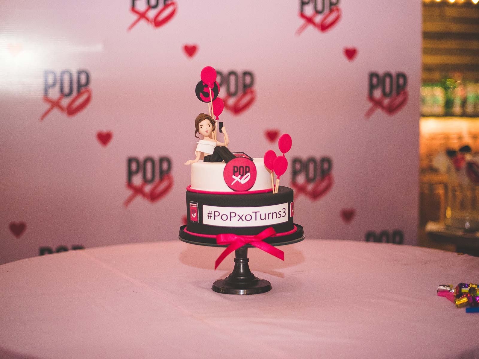 #POPxoTurn3 party at Priyanka Gill's residence in Delhi