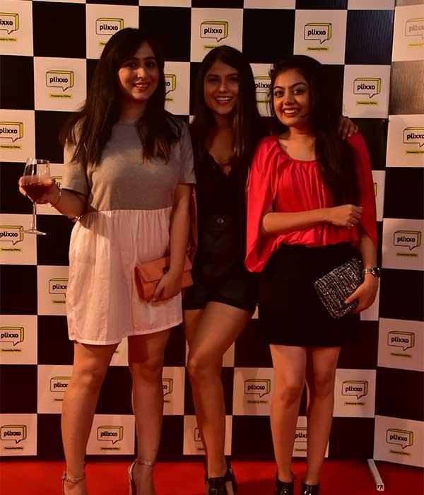 Team POPxo at the Plixxo launch event in Delhi