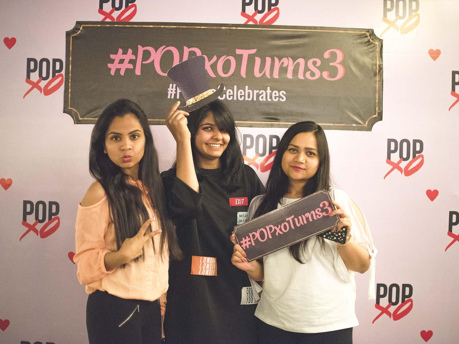 Team POPxo celebrates #POPxoTurns3