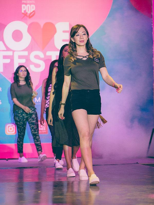 Plixxo Super Bloggers walk the ramp for Westside at the POPxo Love-Fest